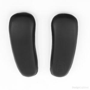 Leder-Armauflagen für den Aeron Chair