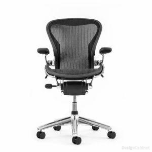 Herman Miller Aeron Chair in Aluminium – Größe B