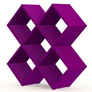 Tenzo SMART Regal Cross violett lackiert