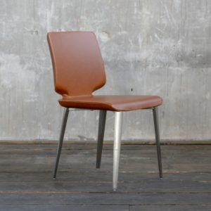 KAWOLA Stuhl FEMO Esszimmerstuhl Besprechungsstuhl braun