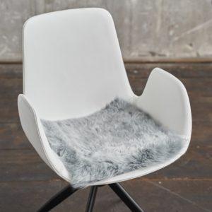 KAWOLA Fell SALERA 37x37cm Farbe Platinum