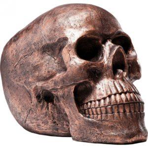 KARE Skull Head Copper Antique