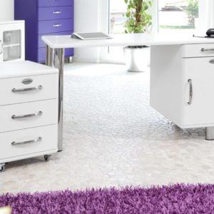 Schreibtisch Malibu 5252 in weiß von Tenzo