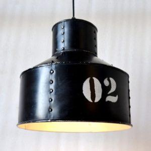 Hängelampe Hängeleuchte Eisen schwarz - FACTORY