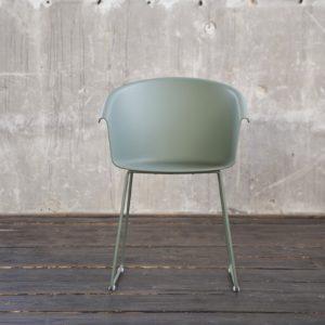 KAWOLA Stuhl GISY Esszimmerstuhl Kunststoff grün