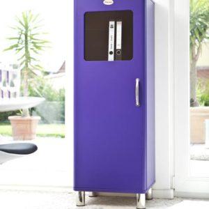 Tenzo Vitrine / Schrank Malibu 5111 - 1 Tür - Violett