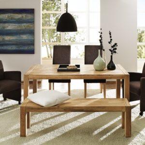 SIT Okay U-Tisch, 140 - 190 x 90 cm - Eiche geölt