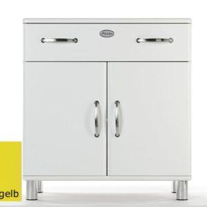 Tenzo Kommode Malibu 5127 - 2 Türen / 1 Schublade - Gelb