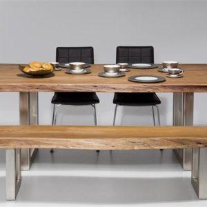 Kare Tisch Nature Line 195 x 110 cm Akazie gewachst