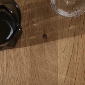 KAWOLA Ansteckplatte REEMA Wildeiche 200x100 - 50cm breit