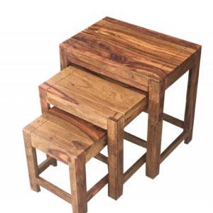 KAWOLA Beistelltisch Set GINA 3-er Tisch Set