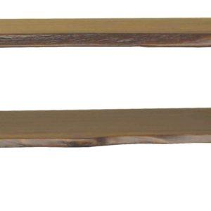 KAWOLA Couchtisch Loft Edge Akazie Massiv-Holz Baumkante B/H/T: 110x45x65cm