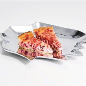 KARE Designer Platte / Schale Summer Storm Aluminium