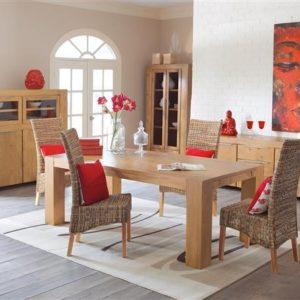 Kasper Wohndesign Luxus Esstisch Lyon - 180 x 100 cm - Pinie