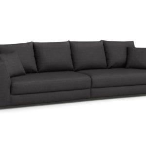 KAWOLA Big Sofa MERA XXL-Wohnlandschaft Stoff anthrazit