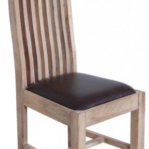 KAWOLA Esszimmerstuhl TAO Holzstuhl mit Sitzpolster