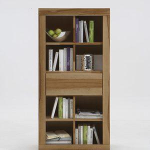 SIT Max Bücherregal mit 1 Schublade - Kernbuche