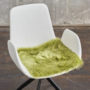 KAWOLA Fell SALERA 37x37cm Farbe Lime
