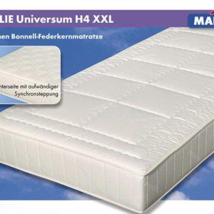 Malie 5-Zonen-Bonnell-Federkern-Matratze Universum XXL - H4 - 100 x 200 cm