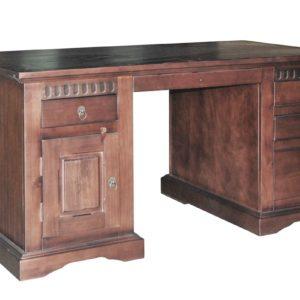 Kolonialmöbel - DELHI Schreibtisch 150x85cm Massivholz Pinie