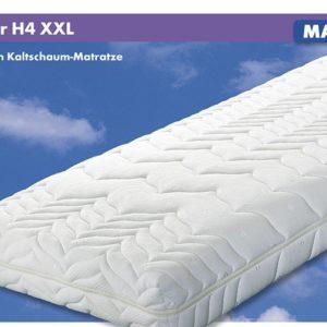 MALIE 5 Zonen-Kaltschaum-Matratze Luxor H4 - XXL - 80 x 190 cm