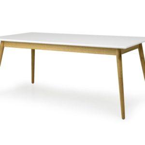 Tenzo Esstisch DOT Tisch 180x90cm weiß/Eiche