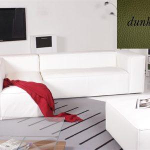 Ecksofa - Sofa Het Anker Leder Toledo dunkelgrün Recamiere links Summer