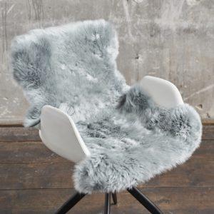 KAWOLA Fell CALEBRE 95cm Farbe Platinum