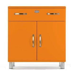 Tenzo Kommode Malibu 5127 mit 2 Türen / 1 Schublade in orange