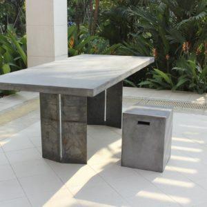 SIT Tisch Cement Esstisch 200x100x76 cm