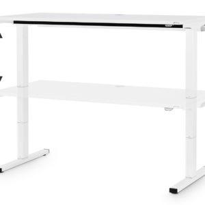 DeCa T-Table – elektrisch höhenverstellbarer Schreibtisch 160x80