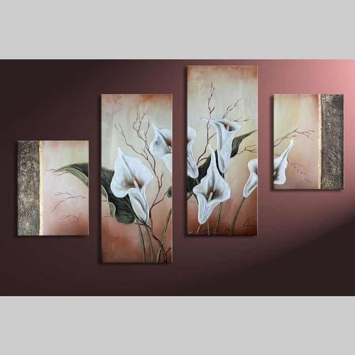 4 Leinwandbilder CALLAS (4) 120 x 80cm Handgemalt