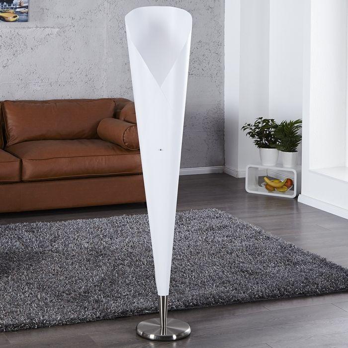 Stehlampe GALA Weiß 155cm Höhe