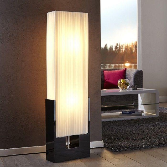 Stehlampe KOBE Weiß 120cm Höhe