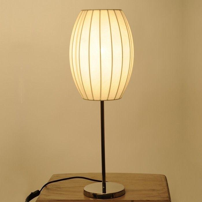 Tischlampe LOOP Prisma Weiß 60cm Höhe