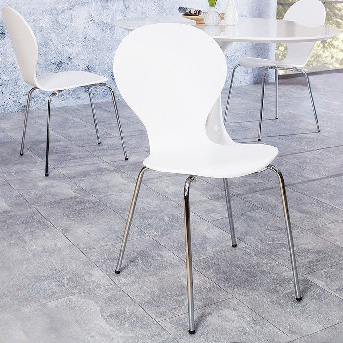 Stuhl JACOBSEN Weiß