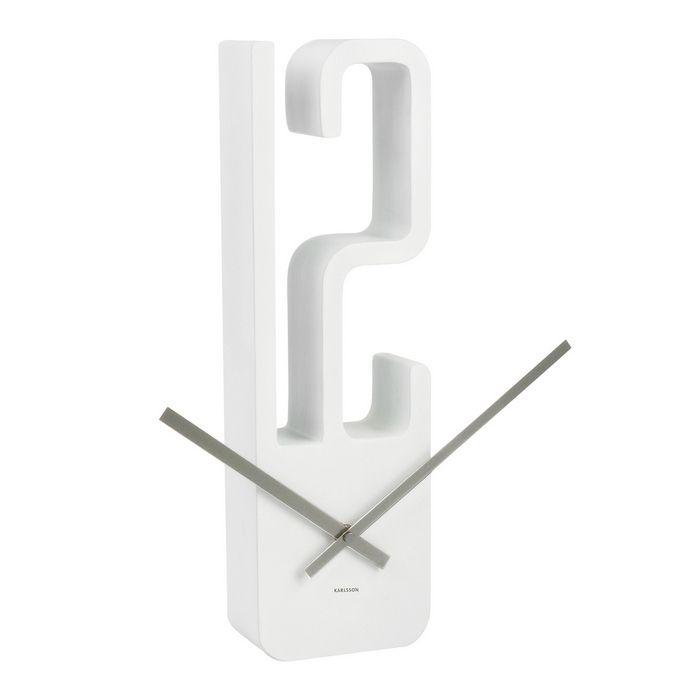 Wanduhr 12 Weiß 39cm