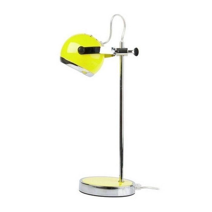 Retro Tischlampe MIMI Limegrün 35cm Höhe