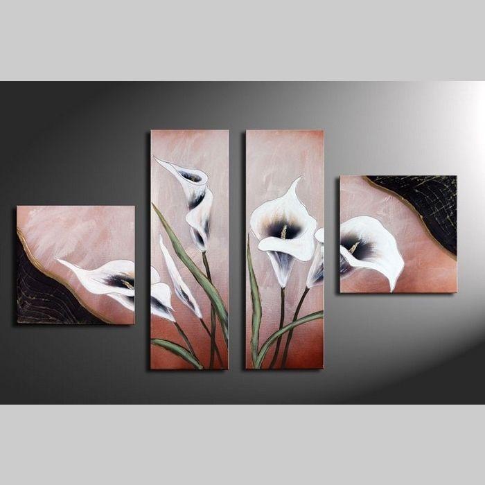 4 Leinwandbilder CALLAS (3) 100 x 60cm Handgemalt
